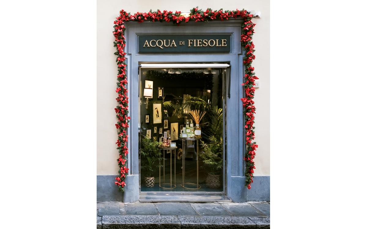 Acqua di Fiesole presenta il nuovo negozio monomarca a Firenze
